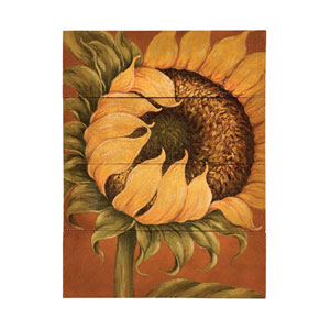 Handpainted Tuscan Sunflower Canvas Wall Art