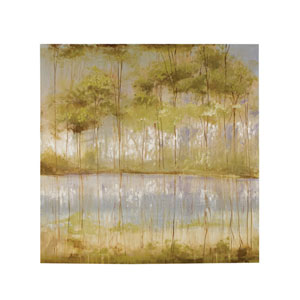 Handpainted Reflections Canvas Wall Art
