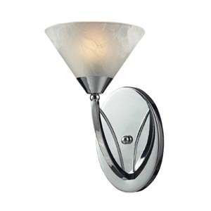 Elysburg Polished Chrome One-Light Bath Light