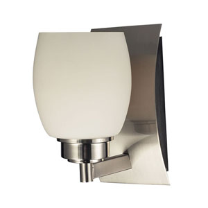 Northport Satin Nickel One-Light Bath Light