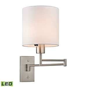 Carson Brushed Nickel LED One Light Wall Sconce