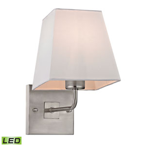 Beverly Brushed Nickel LED One Light Wall Sconce