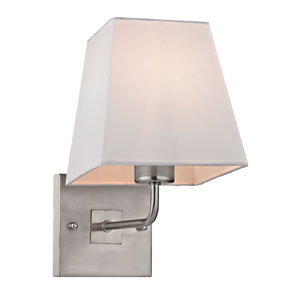 Beverly Brushed Nickel One Light Wall Sconce