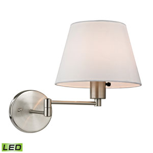Avenal Brushed Nickel LED One Light Wall Sconce