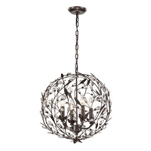 Circeo Deep Rust Four Light Pendant