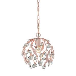 Circeo Light Pink One-Light Pendant