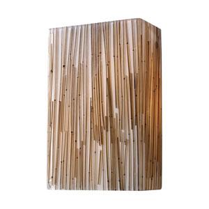 Modern Organics Bamboo Stem Two-Light Wall Sconce