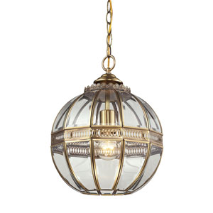 Randolph Brushed Brass One-Light Pendant