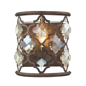 Armand Weathered Bronze One-Light Wall Sconce