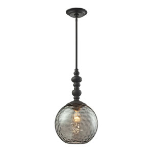 Watersphere Oil Rubbed Bronze One-Light Pendant