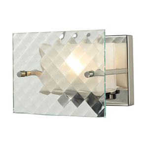 Talmage Brushed Nickel One Light Bath Fixture