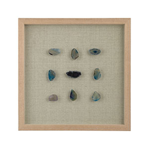 Agate Blue Shadowbox