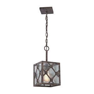 Radley Malted Rust 7-Inch One-Light Mini Pendant