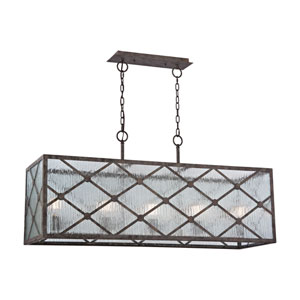 Radley Malted Rust 14-Inch Five-Light Pendant