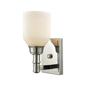 Baxter Polished Nickel One-Light Vanity