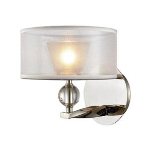 Corisande Polished Nickel One-Light Vanity
