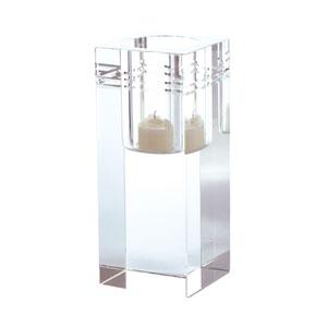Crystal Collar Square Votive Candle Holder