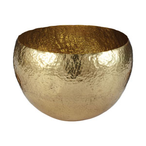 Gold Hammered Gold Dish