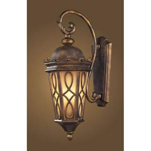 Burlington Junction Large Amber Outdoor Lantern