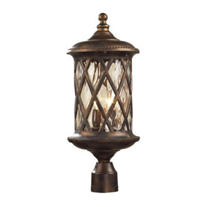 Barrington Gate Bronze Outdoor Post Mounted Lantern