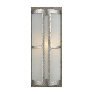 Trevot Sunset Silver One-Light Outdoor Wall Mount