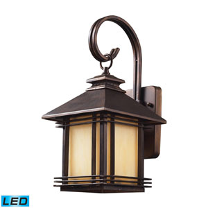 Blackwell One Light LED Outdoor Wall Sconce In Hazelnut Bronze