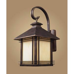 Blackwell Hazelnut Bronze Large Outdoor Wall Mount