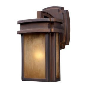 Sedona Hazelnut Bronze Outdoor Wall Mount