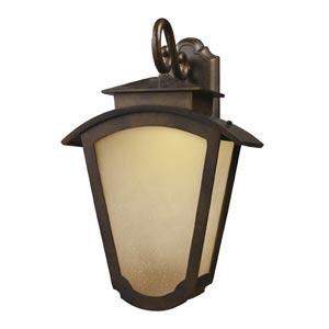 Porter Hazelnut Bronze Two-Light Outdoor LED Wall Mount