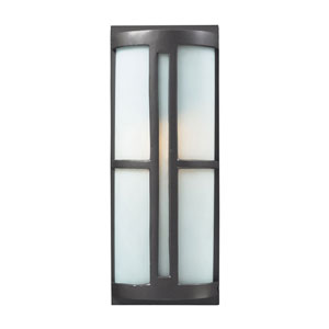 Trevot One-Light Outdoor Sconce In Graphite