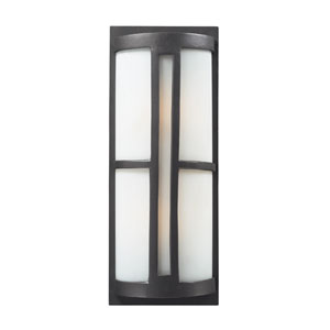 Trevot Two-Light Outdoor Sconce In Graphite