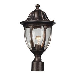 Glendale Regal Bronze One Light Outdoor Post Light