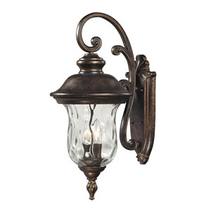 Lafayette Regal Bronze Two-Light Outdoor Wall Sconce