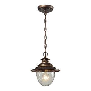 Searsport One Light Outdoor Pendant In Regal Bronze