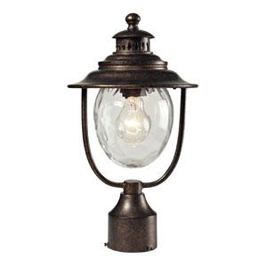 Searsport One Light Post Mount In Regal Bronze