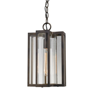 Bianca Hazelnut Bronze One-Light Outdoor Pendant