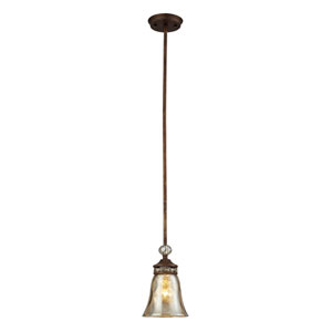 Cheltham One Light Pendant In Mocha
