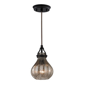Danica Oil Rubbed Bronze One Light Mini Pendant