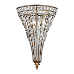 Empire Mocha Two Light Wall Sconce