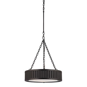 Linden Oil Rubbed Bronze 26-Inch Three Light Pendant