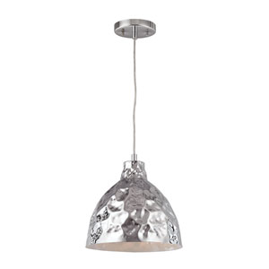 Hammersmith Polished Chrome 10-Inch One-Light Dome Pendant