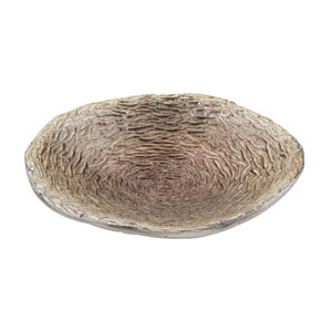 Textured Champagne Brown 18-Inch Bowl