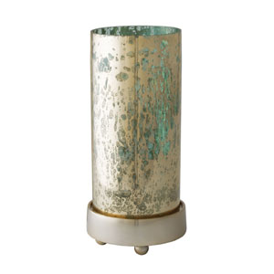 Gilded Sea Blue Candle Holder