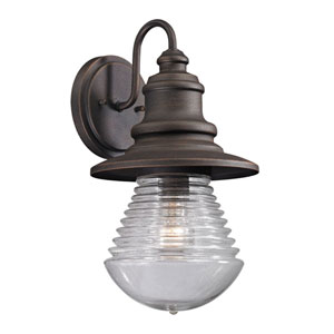 Westport Weathered Charcoal One Light Outdoor Wall Sconce
