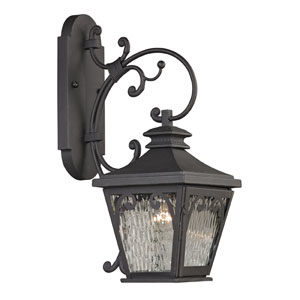 Forged Camden Charcoal One Light Outdoor Wall Sconce