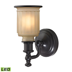 Acadia Oil Rubbed Bronze LED One Light Bath Fixture