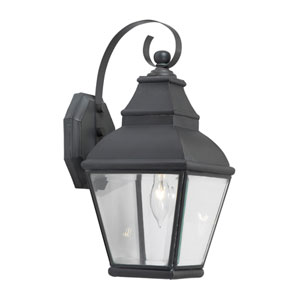 Bristol Charcoal One Light Outdoor Sconce