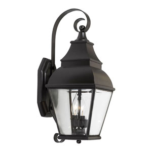 Bristol Charcoal Two Light Outdoor Sconce