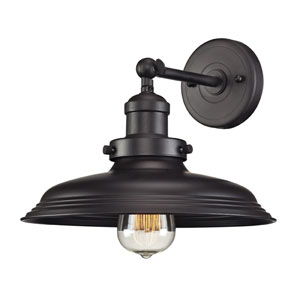 Newberry Oil Rubbed Bronze One Light Wall Sconce