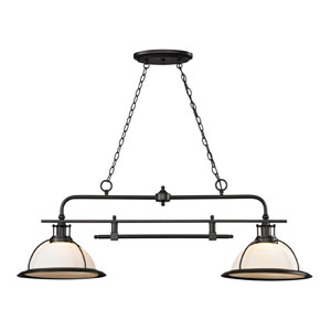 Wilmington Oil Rubbed Bronze Two Light Island